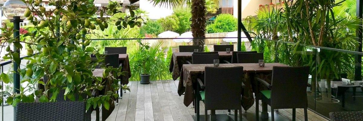 Hotel Ladurner - Terrasse