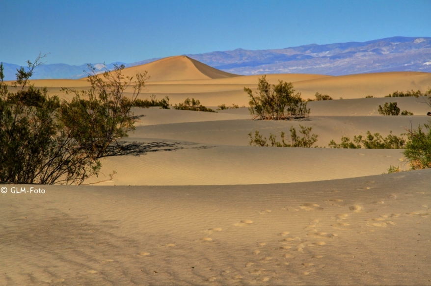 Mesquite Sand Dunes bei StovePipe Wells im Death Valley
