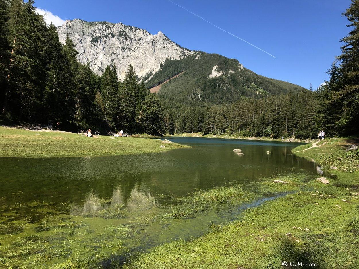 Grüner See bei Tragöß in der Steiermark