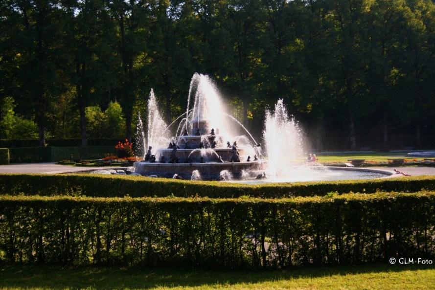 Latona-Brunnen-Wasserspiele