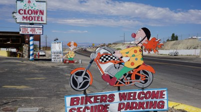 Clown Motel in Tonopah Nevada