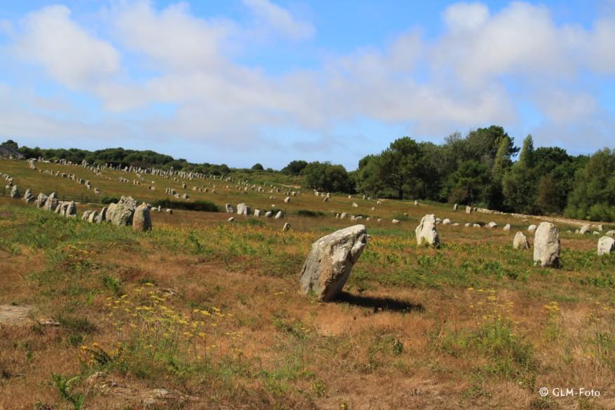 Die Steinreihen von Carnac