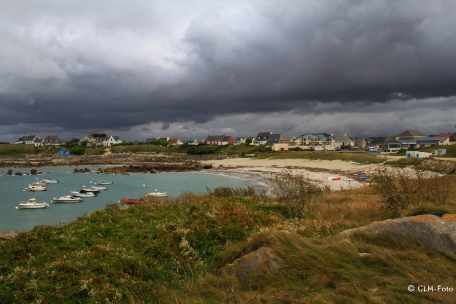 Am Strand von Kerfissien im Finistère