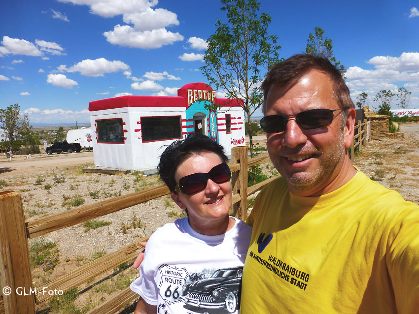 2WonTour auf der Historic Route 66 in Moriarty, New Mexico