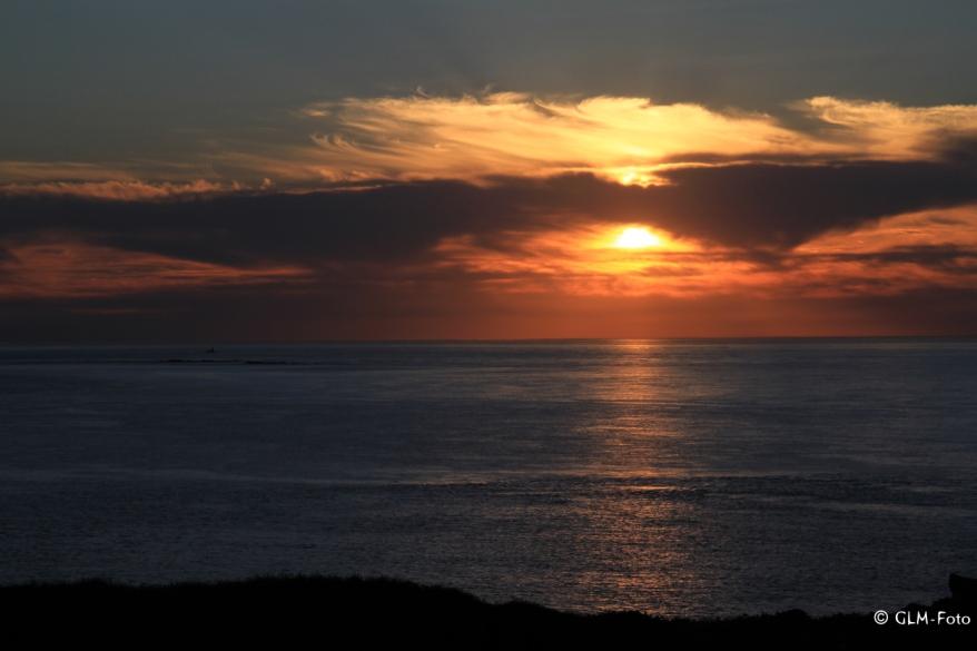 Sonnenuntergang am Point Grouin